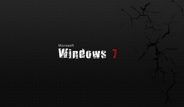 Windows 7 texte gris  HD wallpaper