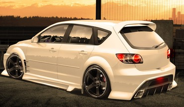 Cars mazda tuning 3d speed 3 HD wallpaper