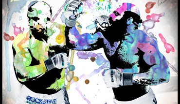 Mma watercolor kimbo slice HD wallpaper