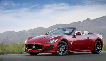 Cars maserati grancabrio HD wallpaper
