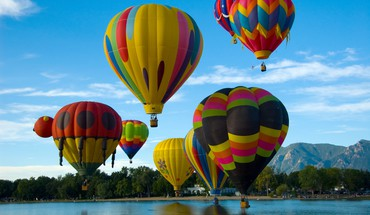 ballons à air chaud  HD wallpaper