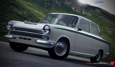 360 1966 forza motorsport 4 lotus cortina HD wallpaper