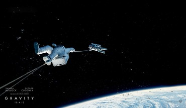 2013 gravity movie HD wallpaper