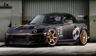 Cars tuning honda s2000 3d attack HD wallpaper
