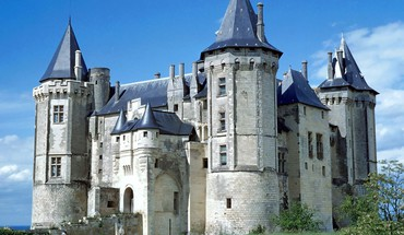 Nature france europe saumur chateau HD wallpaper