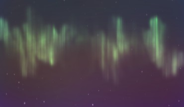 Aurora skies HD wallpaper