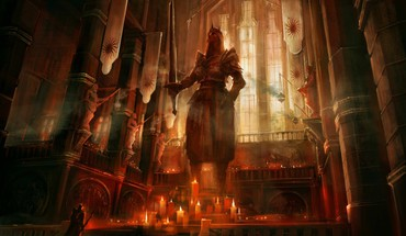 Dragon Age 2 temple autel  HD wallpaper