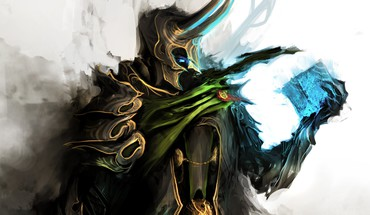 Gothic the avengers loki tesseract thedurrrrian (deviant artist) HD wallpaper