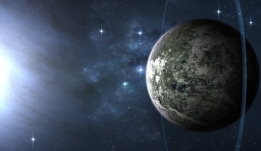 Outer space planets science fiction HD wallpaper