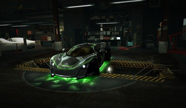 Speed treasure world marussia b2 garage nfs HD wallpaper