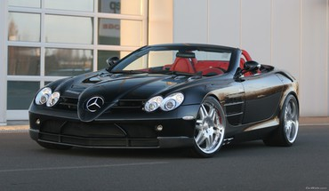 Brabus mercedesbenz mercedes slr cars HD wallpaper