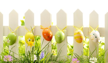 Easter decoration HD wallpaper