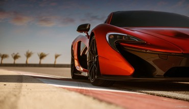 Automobiliai McLaren P1  HD wallpaper