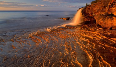 Landscapes rocks national michigan lakes lake superior HD wallpaper