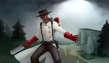 Steam team fortress 2 community mann vs machine HD wallpaper