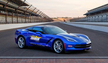 Corvette indy static stingray 2014 pace car HD wallpaper
