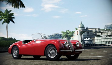 Cars forza motorsport 4 jaguar xk120 1954 HD wallpaper