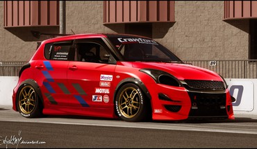 Cars tuning 3d suzuki swift HD wallpaper