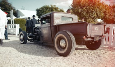 Hot rod ford classic cars 2012 HD wallpaper