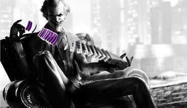 Batman the joker arkham asylum city HD wallpaper