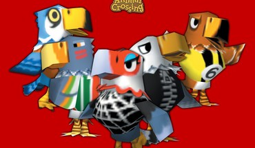 Nintendo gamecube animal crossing birds HD wallpaper