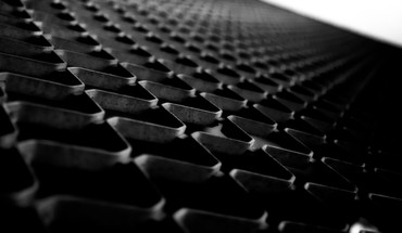 Metal patterns grid grayscale macro gates HD wallpaper