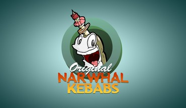 Narwhal shish kabob HD wallpaper