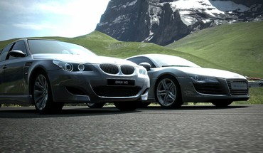 Gran turismo 5 playstation cars court races HD wallpaper