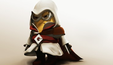 Despicable me ezio auditore da firenze minions HD wallpaper