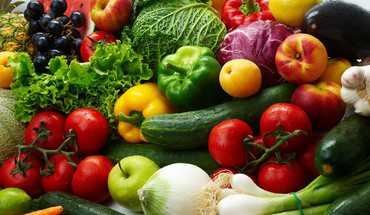 Veggie still life HD wallpaper