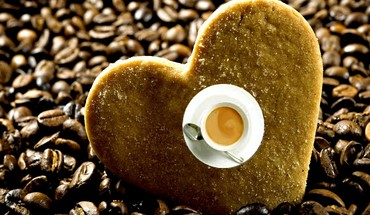 Passion for coffee HD wallpaper