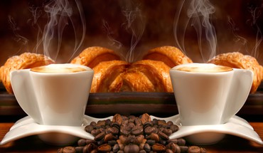 Coffe brioche  HD wallpaper