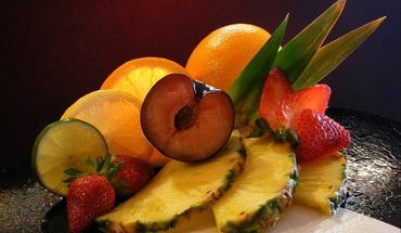 Still life fruit HD wallpaper