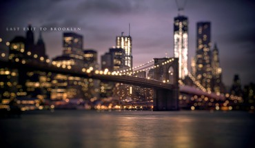 Bridges brooklyn bridge usa new york city HD wallpaper