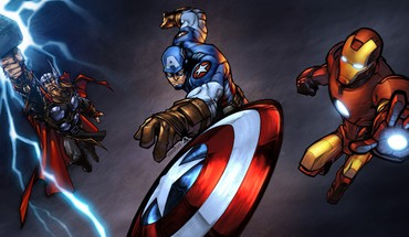 Avengers HD wallpaper
