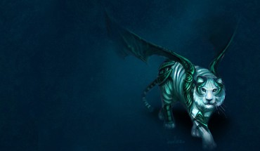 Fantasy tiger HD wallpaper