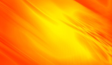 Yellow orange flowing curves HD wallpaper
