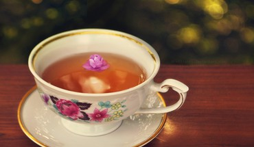 Cup of tea  HD wallpaper