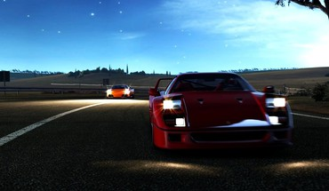 Night gran turismo HD wallpaper
