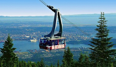 Skyride to grouse mountain HD wallpaper