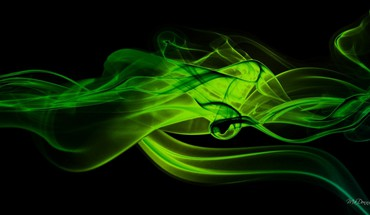 Green smoke  HD wallpaper