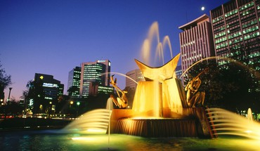 Australia fountain HD wallpaper