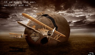 If we dont end war war will us HD wallpaper