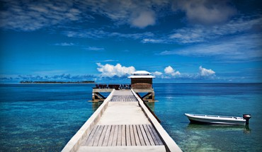 Wakatobi beaches islands ocean paradise HD wallpaper