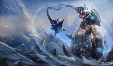 League of legends sejuani characters HD wallpaper