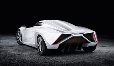 E wolf alpha 2 car rear HD wallpaper