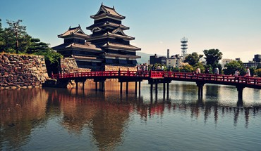 Japanese architecture HD wallpaper