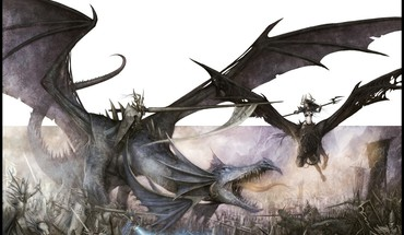 Fantasy dragons warhammer haute Elfe Noir  HD wallpaper