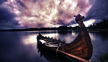 Vikings boats HD wallpaper