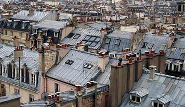 Paris namai rūko Rooftops vietos James lapett  HD wallpaper